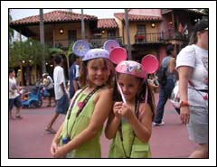 Butter Bean and Hunny Bunny at Disney